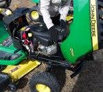 lawn mower inspection