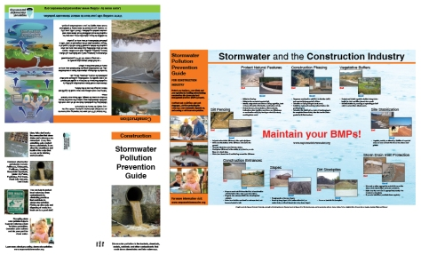 "Construction mailer/brochure, 11""x17"" tri-fold"