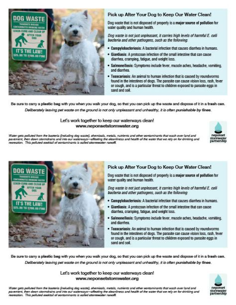 CIC DOG WASTE HALF SHEET FLYER 2UP